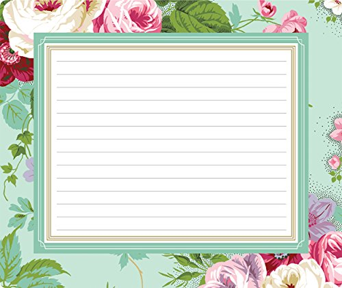 Anna Griffin Amelie Floral Collection Mouse Pad Notepad