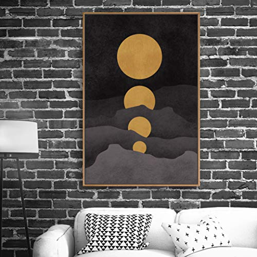 Framed Home Artwork Abstract Scenery for Living Room Bedroom