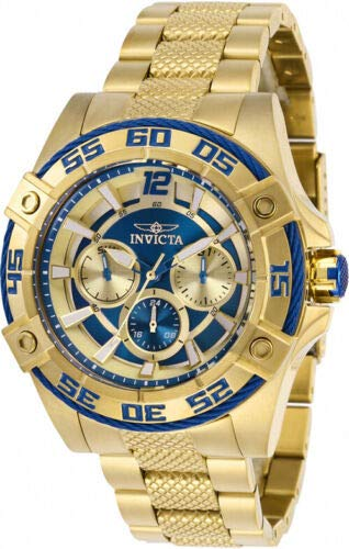 Invicta 29293 Women's Bolt Yellow Gold Bracelet Chronograph Watch ()