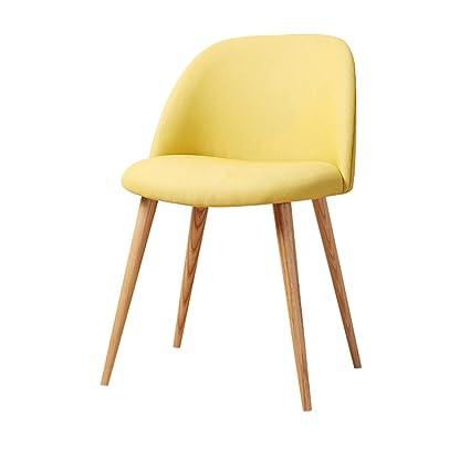 Amazon.com: JU FU Chair Simple and Casual Single Backrest ...