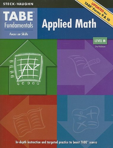 TABE Fundamentals: Student Edition Applied Math, Level M