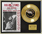 ROLLING STONES Limited Edition 45 Record Display. Only 500 made. Limited quanities. FREE US SHIPPING