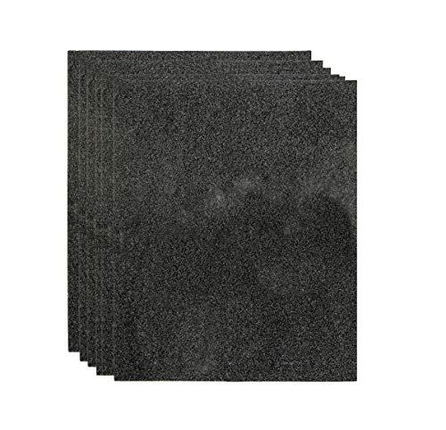 LifeSupplyUSA 6 Replacement Cut-to-Fit Universal Carbons fit Hunter F1700 Viro-Silver and 30601 Pre-Filter Sheet, 20