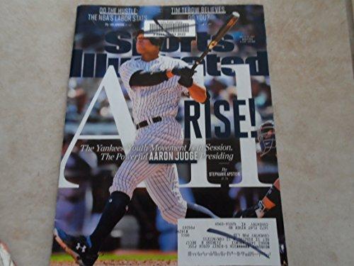 Yankees Sport Magazine - Sports Illustrated Magazine (May 15, 2017) Aaron Judge New York Yankees Cover