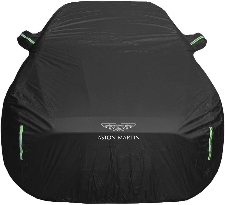 Old street Car cover Compatible with Aston Martin V8 Vantage Car covers Car Tarpaulin All Day Waterproof And Windproof Snowproof Dustproof Outdoor Indoor UV Protection