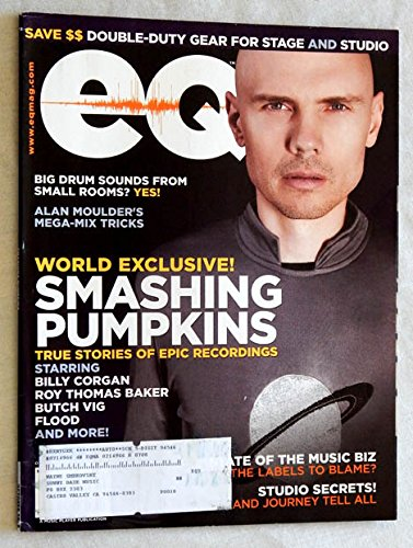 - EQ Magazine October 2008 Issue - Graded Near Mint 9.4 By The Seller There Is One Tear On 1 Page - Smashing Pumpkins - Billy Corgan - Neal Schon - Journey
