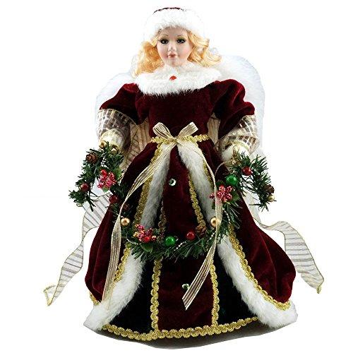 Porcelain Christmas Doll - 1