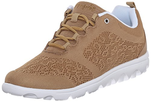 Propet Women's TravelActiv Fashion Sneakers, Honey, 7.5 Medium