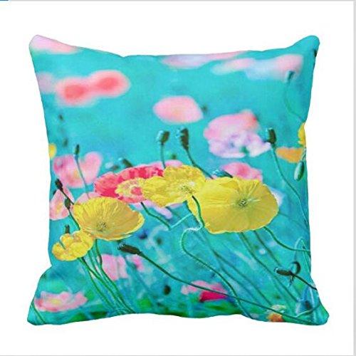 Amazon Mag21bruno Spring Break Flowers Pillowcase 18x18in Home