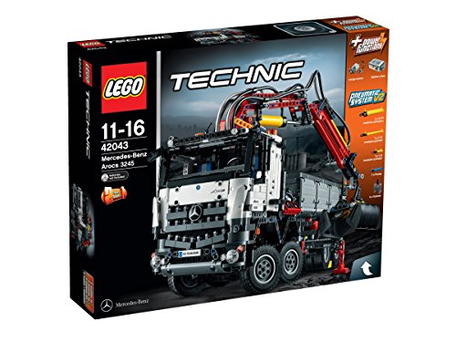 Amazon Com Lego Technic 42043 Mercedes Benz Arocs 3245 Toys Games