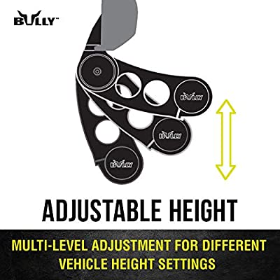 Bully AS-500S Chrome Series Universal Truck Aluminum Side Hoop Step Single Piece Includes Mounting Brackets - Fits Various Trucks from Chevy (Chevrolet), Ford, Toyota, GMC, Dodge RAM and Jeep: Automotive