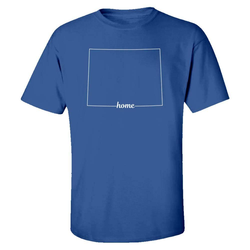 MESS Wyoming State USA Pride Home - Kids T-Shirt