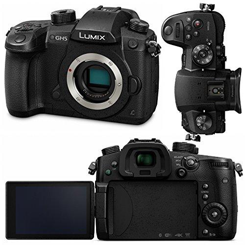 Panasonic DC-GH5KBODY 4K Mirrorless HD Camera w/Rode VideoMic ProR & Shockmount