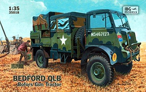 IBG Models Bedford QLB Bofors Gun Tractor Truck (1/35 (Bedford Five Light)