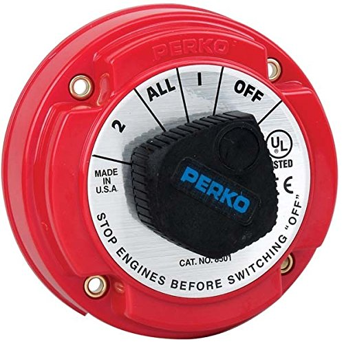 AMRP-8501DP * Perko 250 Amp Battery Selector Switch for 12, 24 or 36 Volt Systems