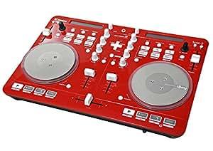 Vestax vuelta controlador MIDI 2 Rojo rojo
