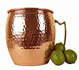 Giant Moscow Mule Mug (Solid not plated) - 1.3 Gallons (166.4 oz) Extra Large Moscow Mule Copper Mug - Pure Hammered Copper Ice Bucket by Lifestyle Banquet