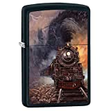 Zippo Blaylock Painting Train Lighter Custom Made