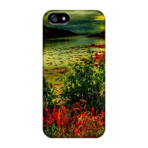 Artistic Riverscape Hdr Case Compatible With Iphone 5/5s/ Hot Protection Case