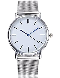 Watches for Women On Sale! Paymenow Clearance Womens Classic Business Watch Stainless Steel Band Analog Wrist Watch Fashion