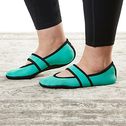Donna Scarpe Pantofola Teal Neoprene Betsy Nufoot Da Lou x7dCvYvqw