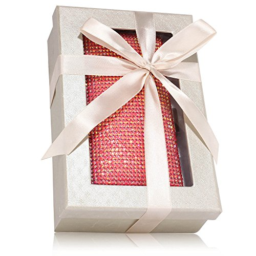 ANNA GRACE - Cartera de mano de Material Sintético para mujer Design 1 - Pink
