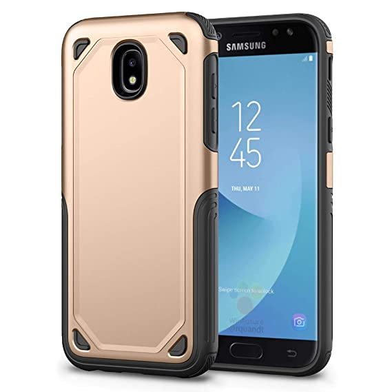 02a18f71bf643b Samsung Galaxy J7 Pro J730G Wallet Phone Case with Tempered Glass Screen  Protector Cell Accessories Stand