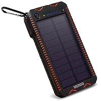 Solar Power Bank Charger 12000mAh, Built...