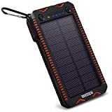 Portable Solar Power Bank, 12000 mAh High Capacity - Best Reviews Guide