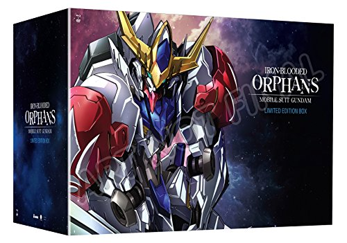 Mobile Suit Gundam  Iron Blooded Orphans  Season Two  Limited Edition Blu Ray Dvd Combo