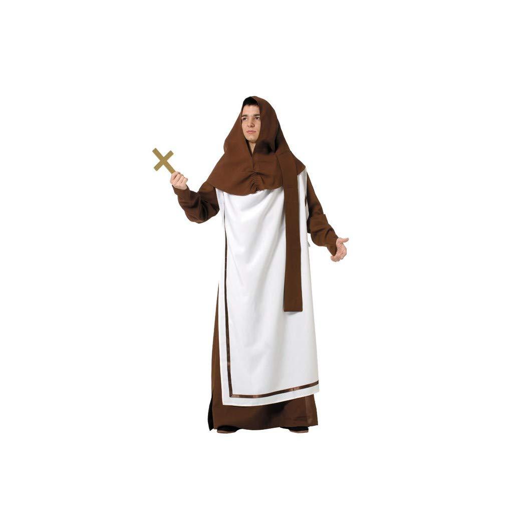 Disfraces FCR - Disfraz monje medieval talla 52: Amazon.es: Ropa y ...