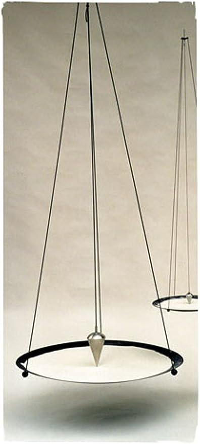 Mandalas Meditation 125cm Sandpendel hängend ca Sand-Pendel aus Metall