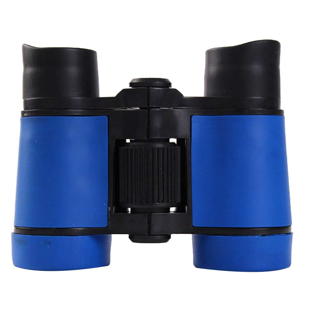 Yevison Children's Binoculars Set - Compact Mini Rubber Telescopes for kids Bird Watching - Educational Learning - Hiking - Birthday Presents - Gifts for Children blue Durable and Useful