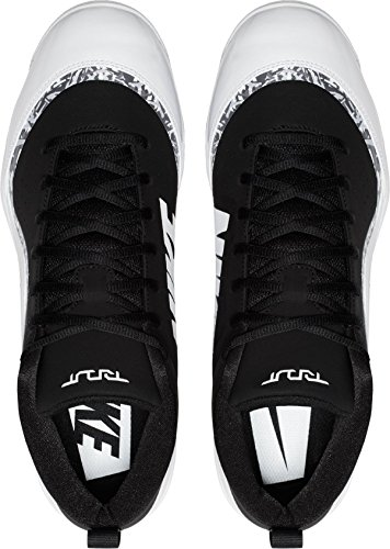 Nike Herren Force Trout Pro MCS Baseballschuh Schwarz / Weiß / Cool Grey