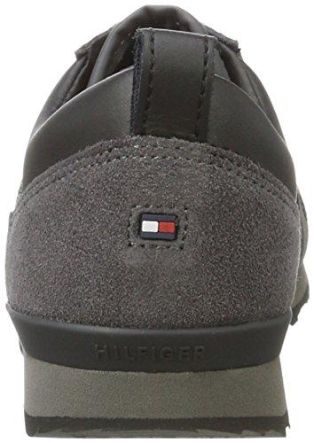 Jr M3285axwell Sneakers Tommy Basses 11c6 Hilfiger magnet Garçon Gris Black xBqIwq4