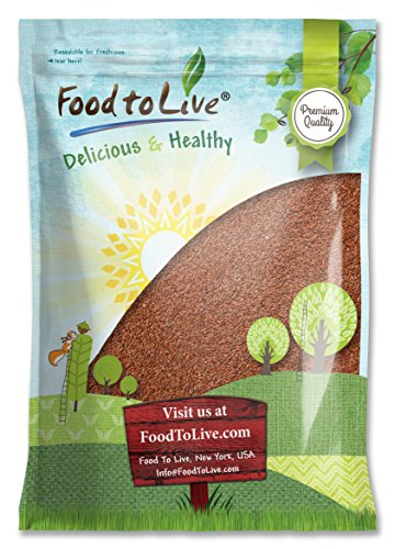 Food Live Whole Flaxseed Pounds product image