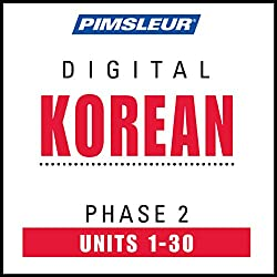Korean Phase 2, Units 1-30