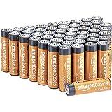 AmazonBasics Performance Baterías alcalinas de alto rendimiento, 48 baterias