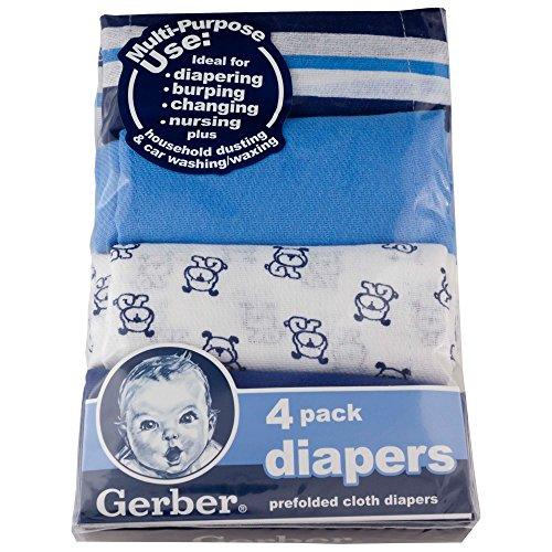 Gerber Cotton Diaper Cloth 4 Pack