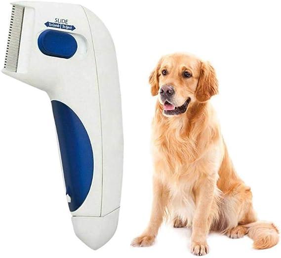 Gyj&mmm Cepillo Limpiador de piojos para Mascotas Peine Cepillo ...