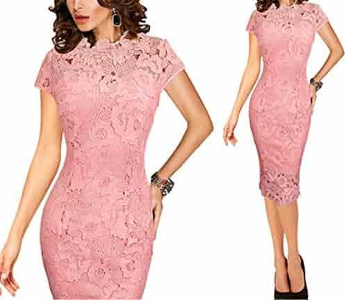 9643f5697da Shopping High Neck - 3X - Pinks - Dresses - Clothing - Women ...