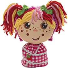 Flip Zee Girls Zana Very Berry Strawberry 2-in-1 Plush Doll by Jay at Play – Perfect Gift – Soft & Squeezable Toy Instantly Switches from 12in Baby to 18in Big Girl Surprise