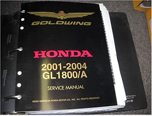 gl1800 owners manual