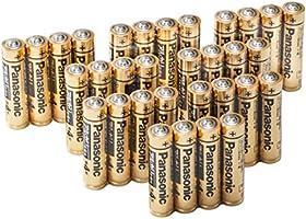 パナソニック単4形アルカリ乾電池32本パック【フラストレーションフリーパッケージ(FFP)モデル】LR03RJA/32S