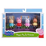 Jazwares Peppa Pig and Friends 3-Inch Figure 4 Pack