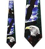 Eagle in Flight Tie Mens Necktie by Vintage Ralph Marlin