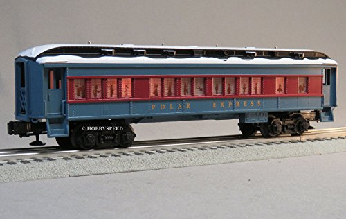 - LIONEL POLAR EXPRESS PUPPET CAR w/SNOW ON ROOF