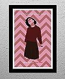 Twin Peaks - Audrey Horne - Original Minimalist Art Poster Print