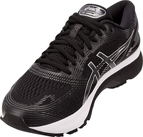 ASICS Gel-Nimbus 21 Men's Running Shoe, Black/Dark Grey, 6 D US by ASICS (Image #3)