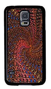 Samsung Galaxy S5 Case, iCustomonline Abstract Stereo Case for Samsung Galaxy S5 I9600 PC Material Black